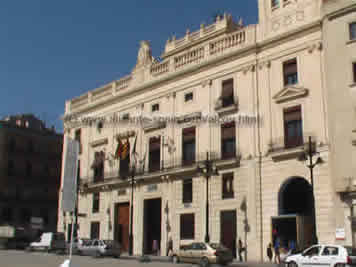 The city hall of Alcoy