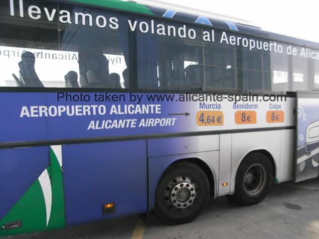 Расписание автобусов бенидорм