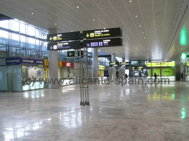 Car Hire Companies Inside Alicante Airport