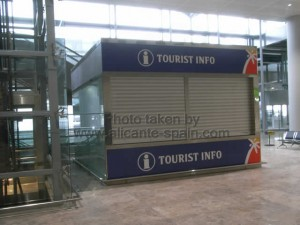 Costa Blanca Tourist Information at Alicante Airport