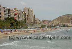 Alicante Beach Postiguet