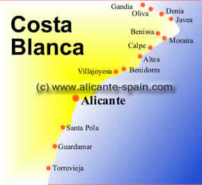 best places to retire at the costa blanca
