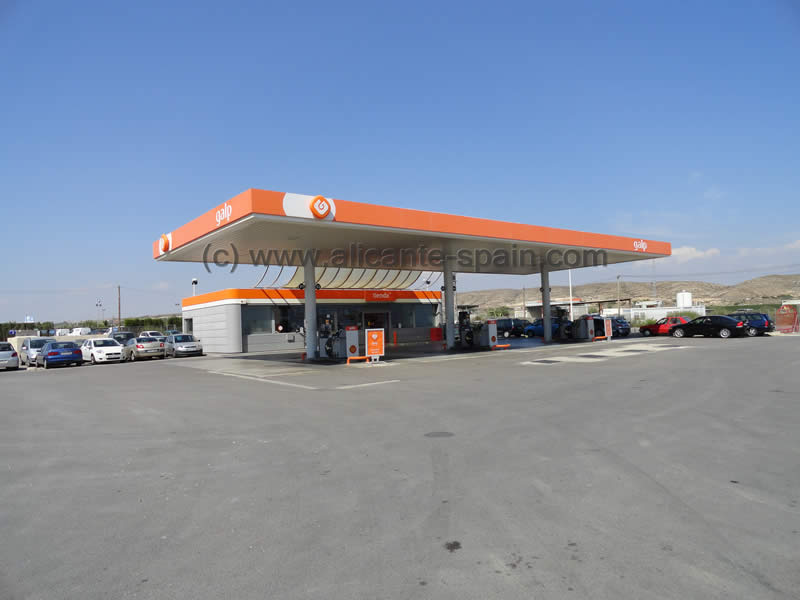 Nearest Gas Stations >> Alicante Airport Car Hire Where Is The Nearest Gas Station