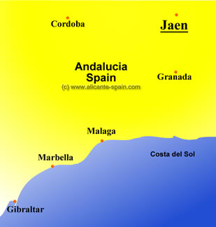 enlarge map of jaen area here