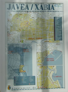 Click on the photo to enlarge the map of javea
