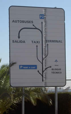 Parking for murcia car rental