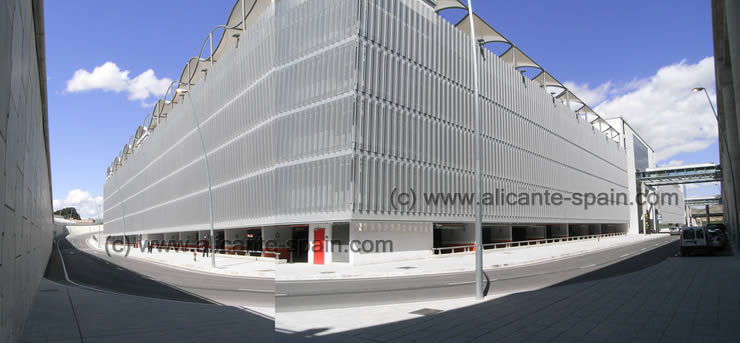 Car Parking Alicante Airport Spain