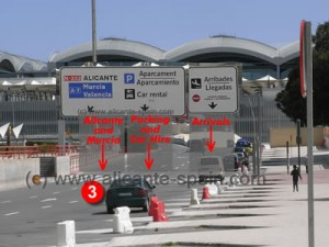 Driving Directions To Car Hire Return Area at Alicante Airport