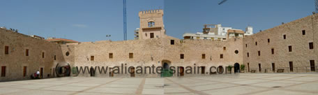 Fortress in Santa Pola Spain