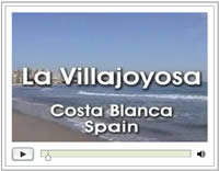 Click here to view the Video about La Villajoyosa Costa Blanca Spain